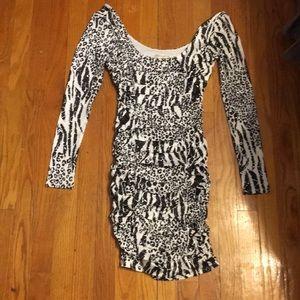 Arden B cheetah dress